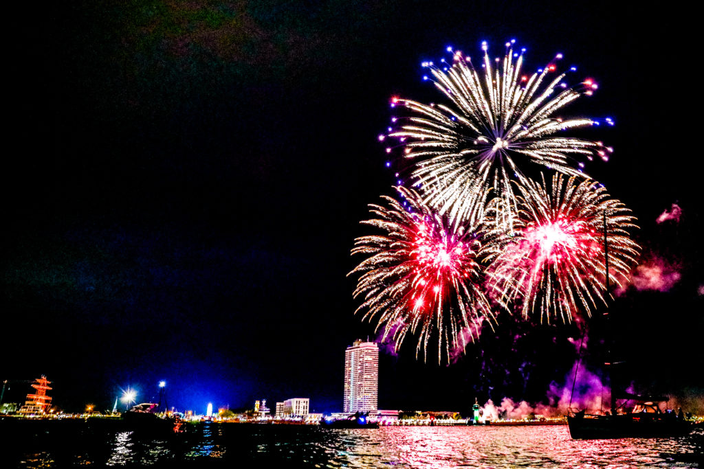 Travemünder Woche Feuerwerk