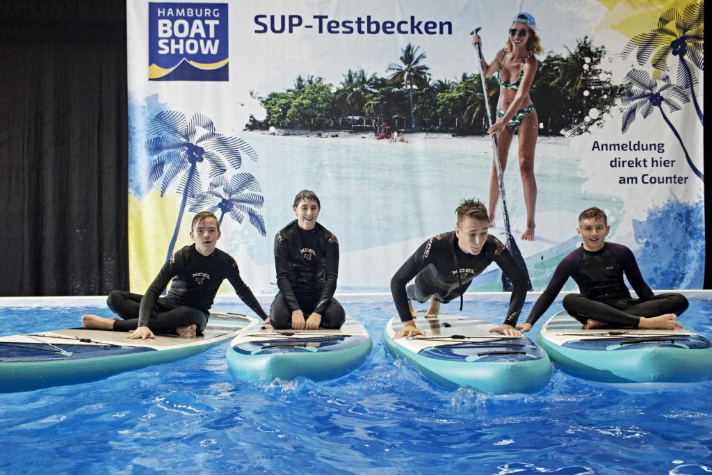 Board-Spaß in Halle B7