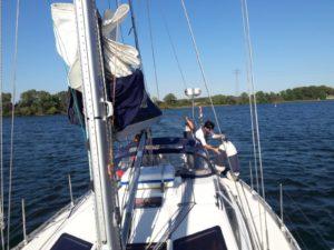 Yachten bleiben weiterhin im Hafen