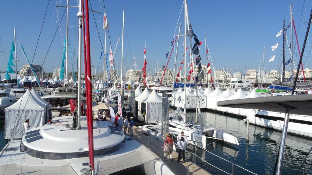 Die internationale Multihull-Messe in La Grande Motte/Frankreich