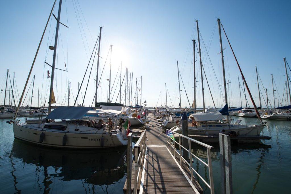 Die Marina Venezia Certosa lädt zum anlegen ein