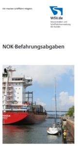 Nord-Ostsee-Kanal - auch 2021 gebührenfrei