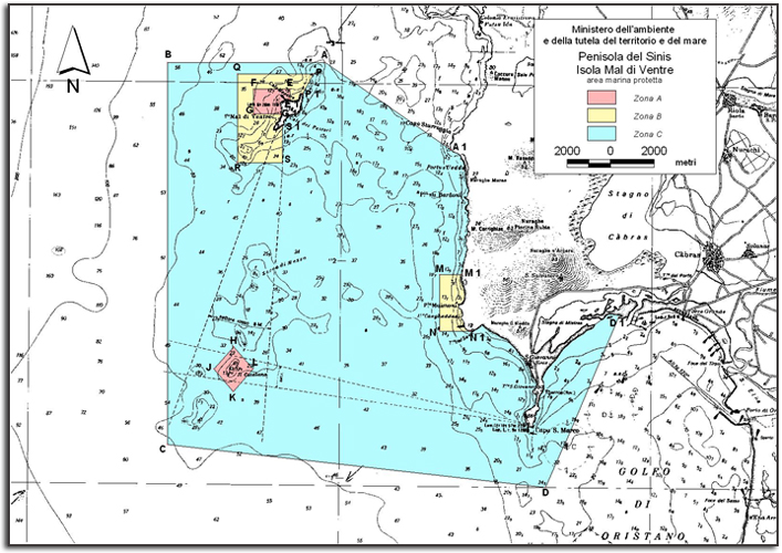 Sardinien: Neue Regelung für Bojenfeld vor Tharros