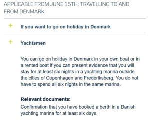Dänemark: Weitere Öffnung der Grenze