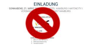 Coronavirus: Fahrtenseglerabend der DSV Kreuzer-Abteilung 21.03.2020 ist abgesagt